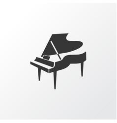 Grand piano icon symbol premium quality isolated vector