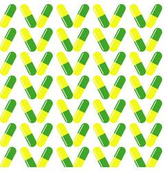 green drug on white background vector image