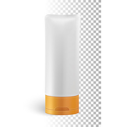 isolated cosmetic product vector image