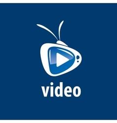 Logo tv vector