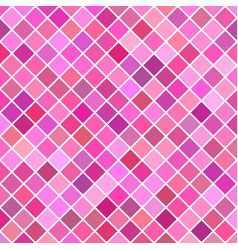 pink diagonal square pattern background vector image