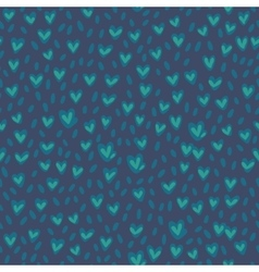 Seamless grassy pattern Hand drawn texture vector image