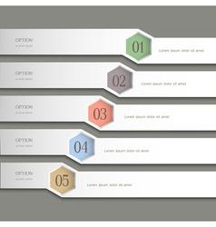 Trendy Design template vector image