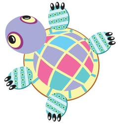 turtle soft toy vector image