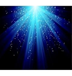 Blue color design with a burst file vector image