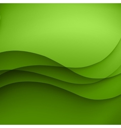 Green Template Abstract background with vector image