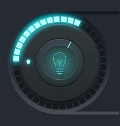 user interface design concept vector image
