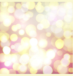 abstract background with colorful bokeh circles vector image