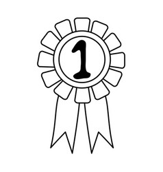 Award or prize icon image vector