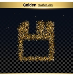 Gold glitter business card vector images over 840 gold glitter icon vector colourmoves