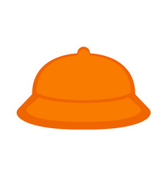 isolated child hat icon vector image