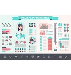 Medical health care hospital doctor vector