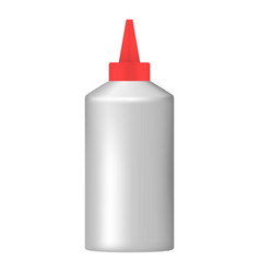 Office glue icon realistic style vector