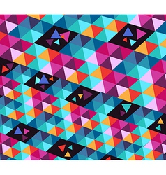 Trendy hipster geometric elements vector image