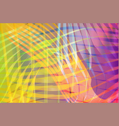 colorful blended abstract waves background vector image vector image