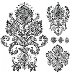 filigree vector image vector image
