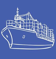 ship 2 vector image