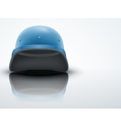 Light Background Military helmet of United Nations vector image vector image