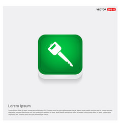 Car key icon vector