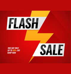 flash sale flashes blitz mega deals buy shop vector image