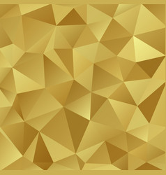gold shiny triangle background design vector image