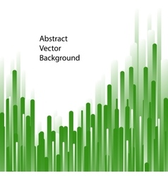 Green lines abstract background vector