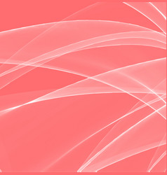 magic wave color background living coral the vector image