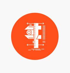 Measure caliper calipers physics measurement vector