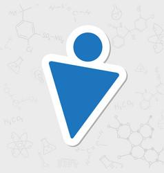 Mman icon vector