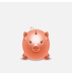 Piggy bank money box vector image