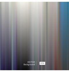 Abstract Colorful Striped and Blurred Background vector image vector image
