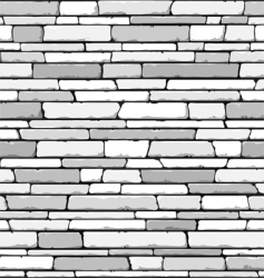 stone wall pattern vector image vector image