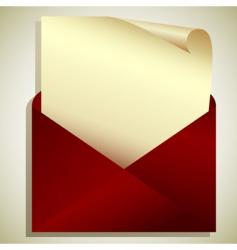 tag in envelope vector image vector image