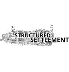a structured settlement nightmare don t let this vector image