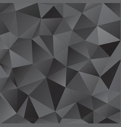 Black shiny triangle background design vector