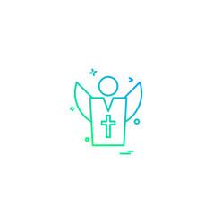 church icon design vector image