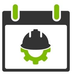 Development Calendar Day Flat Icon vector