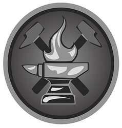 Icon forge1 vector