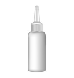 office glue bottle icon realistic style vector image