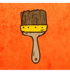 Paintbrush Cartoon vector image