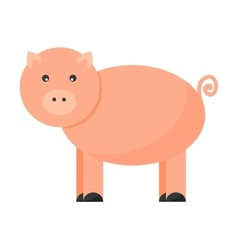 Pigs cartoon character vector image