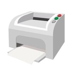 Printer cartoon icon vector image