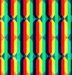 vintage bright rhombus seamless texture with vector image