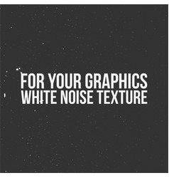 White noise texture for your graphics vector