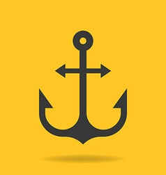 icon of Anchor vector image vector image