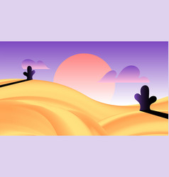 Background in gradient style digital art vector