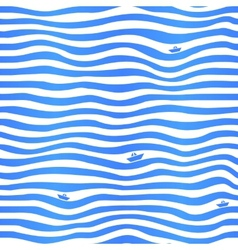 Blue stripes wavy simple background with little vector