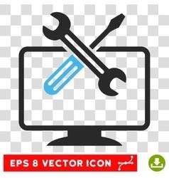 Computer Tools Eps Icon vector