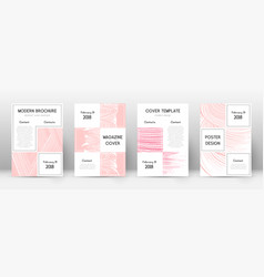Cover page design template business brochure layo vector