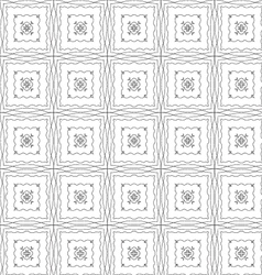 Grunge repeating pattern on a white background vector image